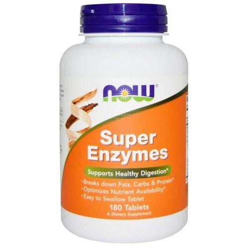 Now Super-Enzyme, 180 Tabletten: Gesund Verdauen