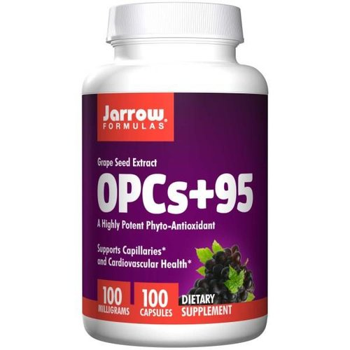 Jarrow Traubenkernextrakt OPCs + 95, 100 mg (100 Kapseln)