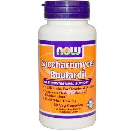 Now Saccharomyces Boulardii - Magen-Darm-Unterstützung