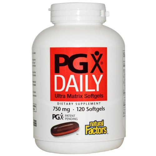 Natural Factors PGX Daily, Ultra Matrix Softgels (750 mg)