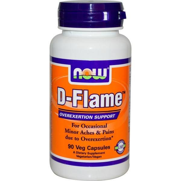 Now D-Flame, 90 Veggie-Kapseln: Overexertion Support