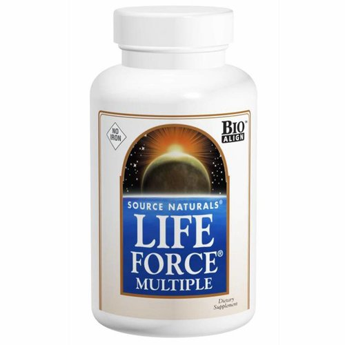 Source Naturals Life Force Multiple ohne Eisen 180