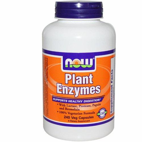Now Now Foods, Pflanzenenzyme, 240 Veggiekapseln