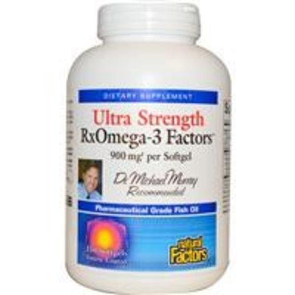 Natural Factors Ultra Strength Rx-Omega-3 Factors (900 mg)