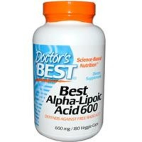 Doctor's Best Best Alpha-Liponsäure 180 (ALA) (600 mg)