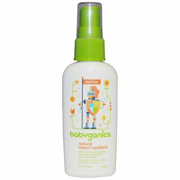 babyganics Natürliches Insekten-Abwehrmittel, 59 ml: Insektensicher für Babys und Kinder ab dem 6. Monat