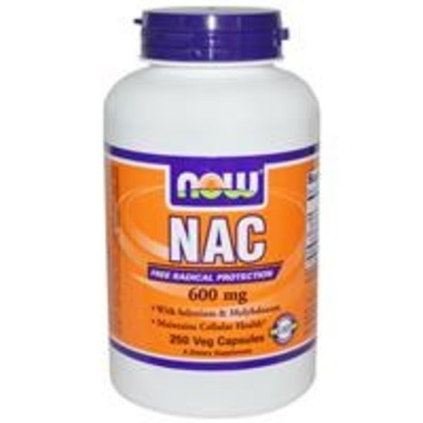 Now NAC - N-Acetylcystein (600 mg)