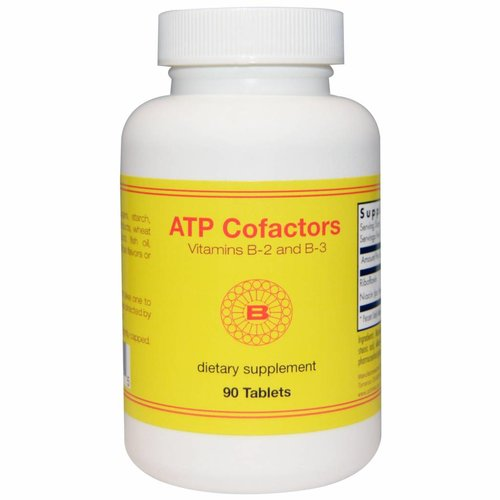 Optimox ATP Cofactors Vitamin B-2 & B-3