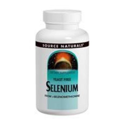 Source Naturals Selen (Selenium) L-Selenomethionine, 200 mcg, 120 Tabletten