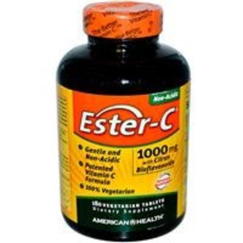 American Health Ester C 1000mg w/ Citrus Bioflavanoids 180 Vegitabs