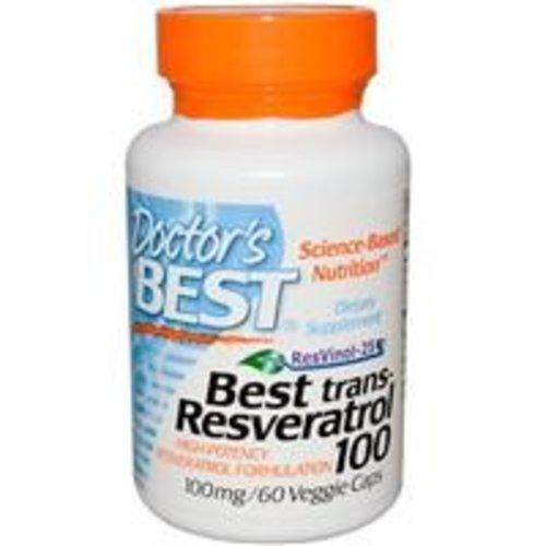 Doctor's Best Resveratrol 100 mit Resvinol-25
