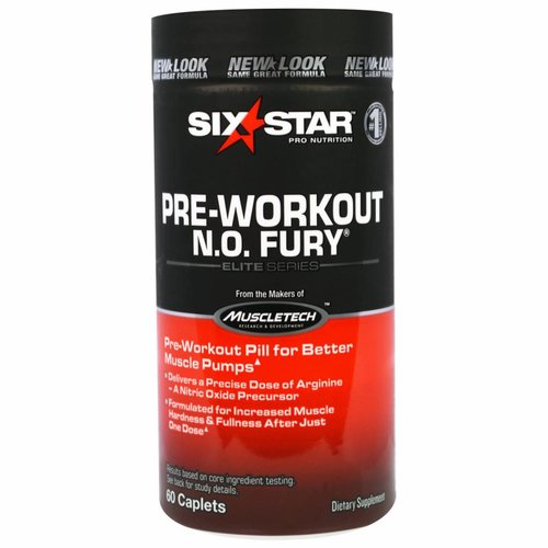 Six Star Pro Nutrition N. O. Fury, Elite Series