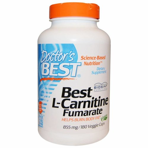 Doctor's Best L-Carnitine Fumarate (855 mg)