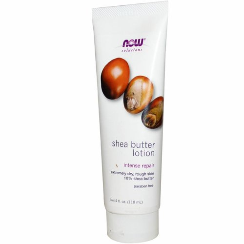 Now Foods Solutions,Sheabutterlotion, 4 fl oz (118 ml)