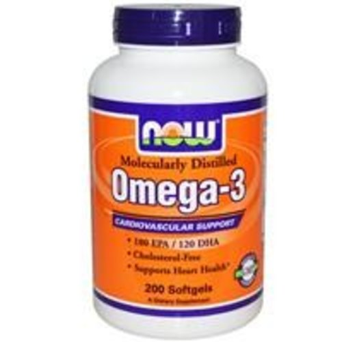 Now Foods Omega-3, Herz-Kreislauf-Support, 200 Kapseln