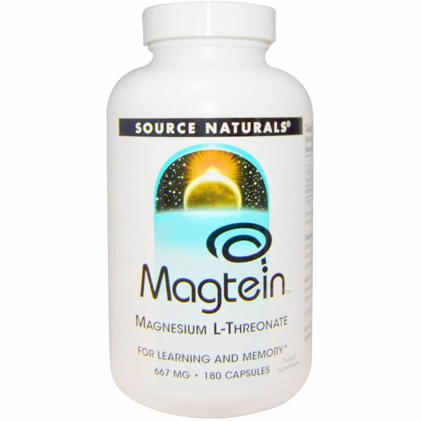 Source Naturals Magtein - Magnesium L-Threonat (667 mg)