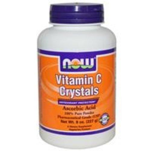 Now Foods Vitamin C Kristalle, Pulver, 8 oz (227 g)