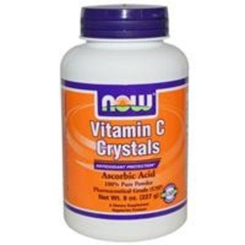 Now Vitamin C Kristalle, Pulver, 8 oz (227 g)