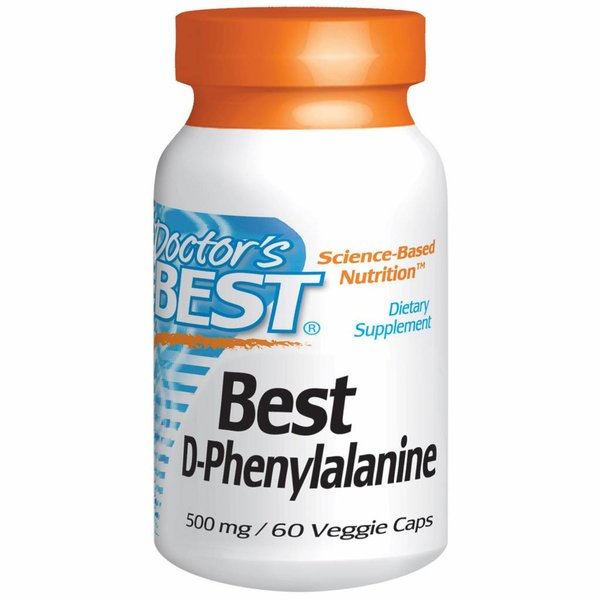 Doctor's Best D-Phenylalanin (500 mg)