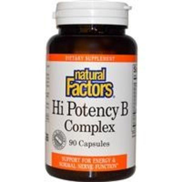 Natural Factors Vitamin B-Komplex - höchste Potenz (50 mg)