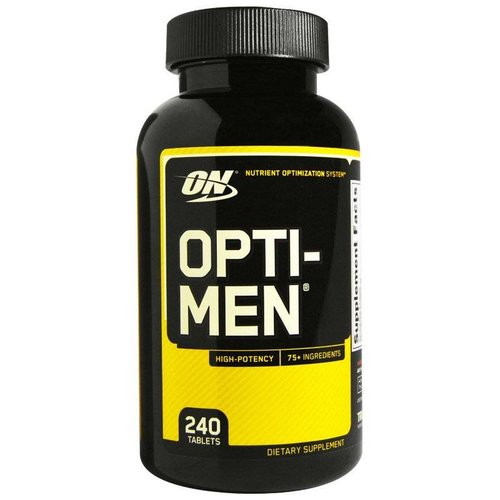 Optimum Nutrition Optimum Nutrition, Opti-Men, 240 Tabletten
