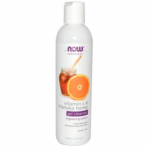Now Solutions & Essential Oils Vitamin C & Manuka-Honig Gelseife (237 ml)