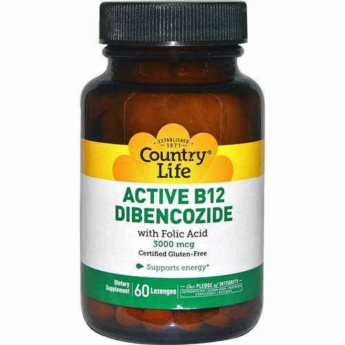 Country Life Aktives B12-Dibencozid (3.000 mcg)