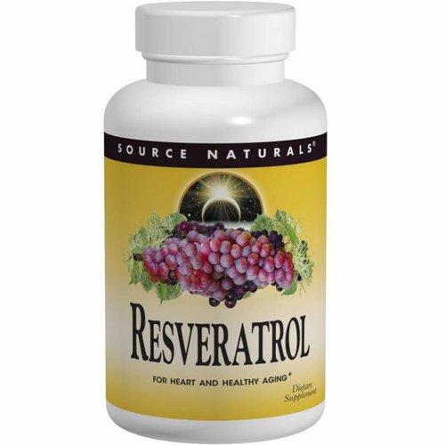 Source Naturals Resveratrol, 60 Tabletten