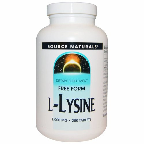 Source Naturals L-Lysin (1.000 mg)
