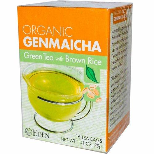 Eden Organic Genmaicha - Grüner Tee mit Braunem Reis