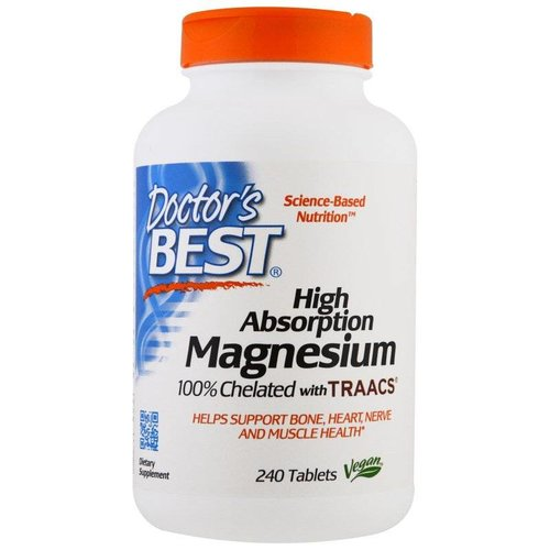 Doctor's Best Magnesium mit hohem Absorptionsgrad