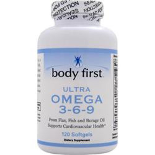 BODY FIRST (AllstarHealth) Ultra Omega 3-6-9 120 Softgels