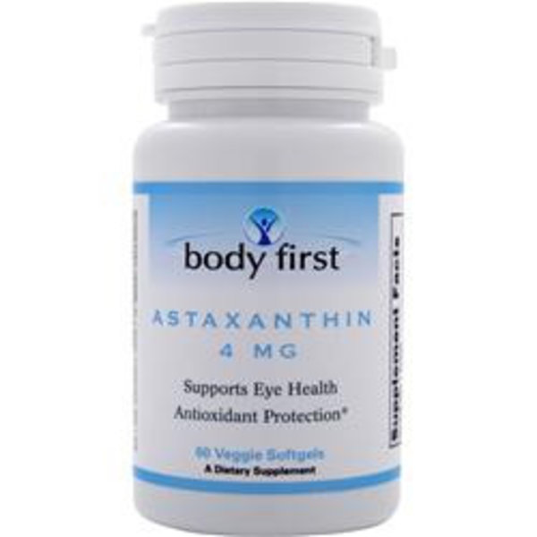 BODY FIRST (AllStarHealth) Astaxanthin (4 mg)