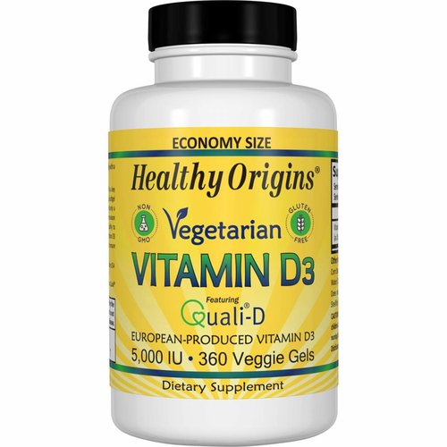 Healthy Origins Vegetarisches Vitamin D3 (5.000 IE)