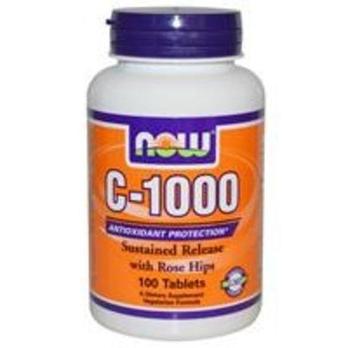 Now Vitamin C-1000 mit Hagebutten und Bioflavonoide