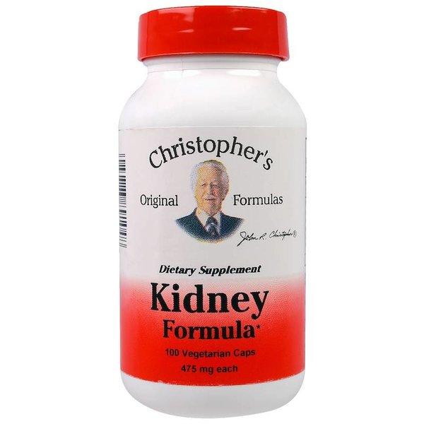 Christopher's Original Formulas Nieren Formel / Kidney Formula, 475 mg Each, 100 Veggie Caps: für das Harnsystem