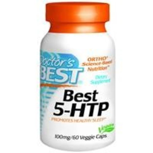 Doctor's Best 5-HTP - Serotonin Booster (100 mg)