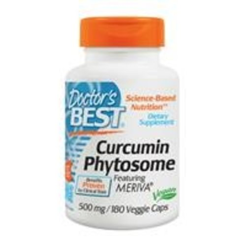 Doctor's Best Curcumin Phytosome mit Meriva (500 mg)