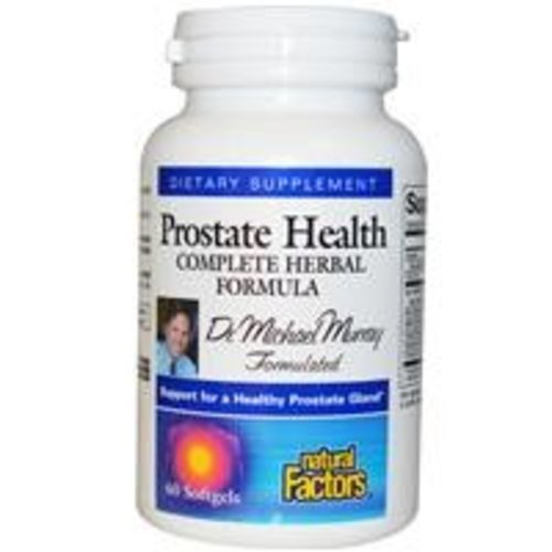 Natural Factors Prostatagesundheit, Komplett Herbal Formula, 60 Kapseln