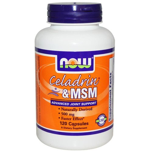Now Celadrin & MSM (500 mg)