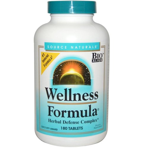 Source Naturals Wellness-Formel mit Echinacea