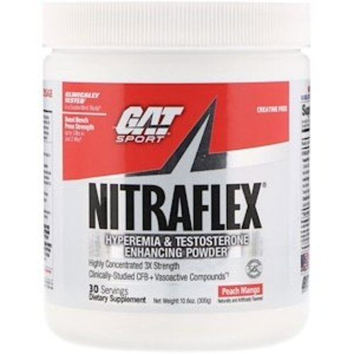 GAT Sport Nitraflex, Pfirsich-Mango