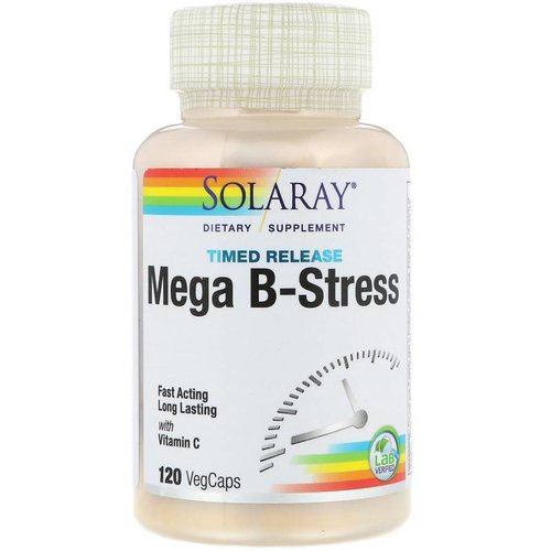 Solaray Mega B-Stress 120