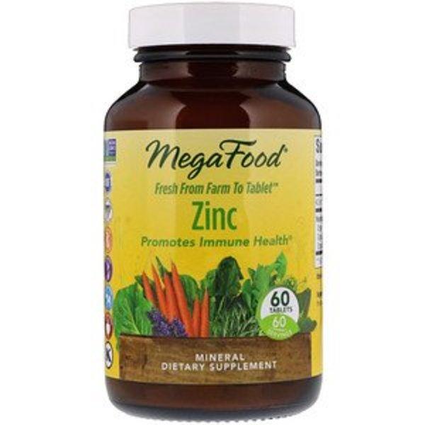 Mega Food Zink (Zinc) Zertifiziert vegan