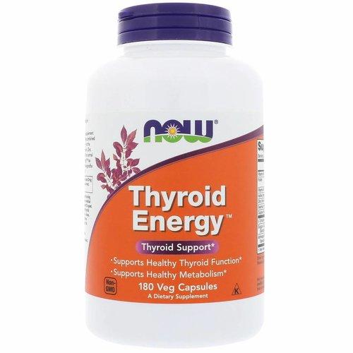 Now Foods Schilddrüsen-Energy, Schilddrüsen-Unterstützung, 180 vegetarische Kapseln für die Schilddrüse
