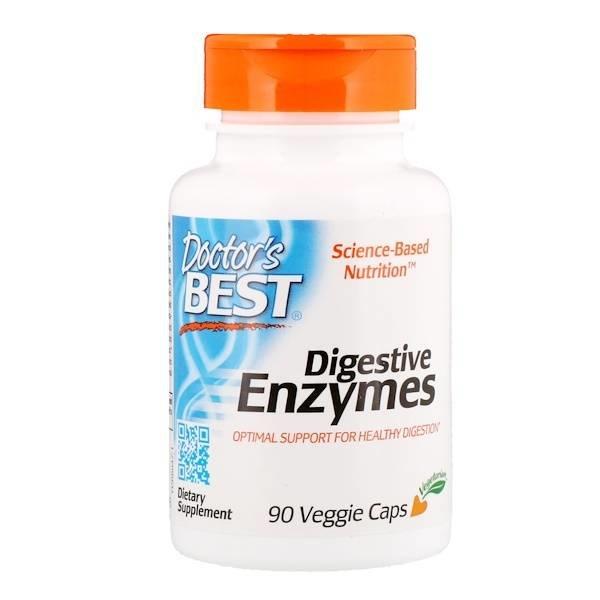Doctor's Best Verdauungsenzyme,Digestive Enzymes , 90 vegetarische Kapseln: