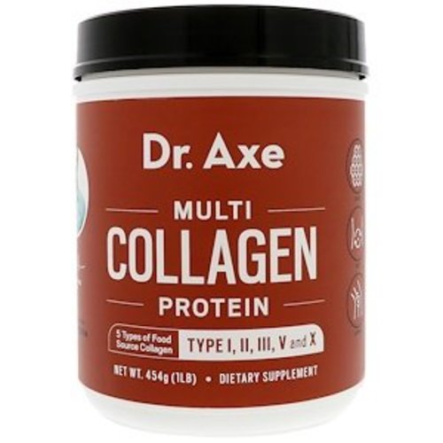 Dr. Axe / Ancient Nutrition Dr. Axe / Ancient Nutrition, Mult-Kollagen Proteinpulver,  (454 g)