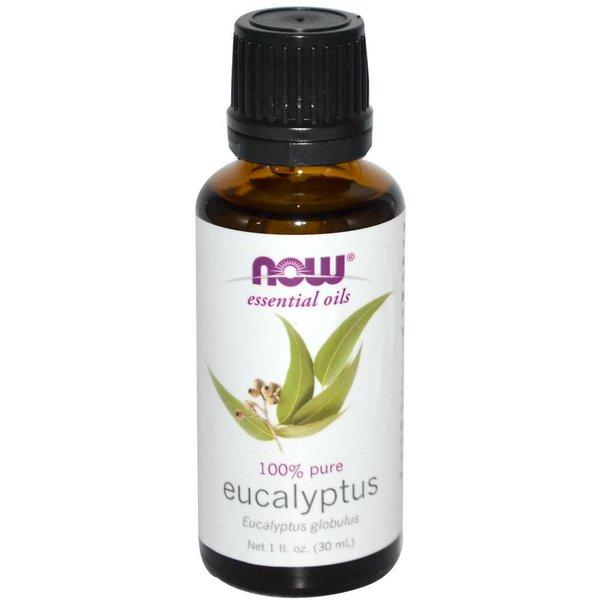 Now Solutions & Essential Oils 100% Eukalyptus Öl, 1 Flüssigunze (30 ml) NOW Essential