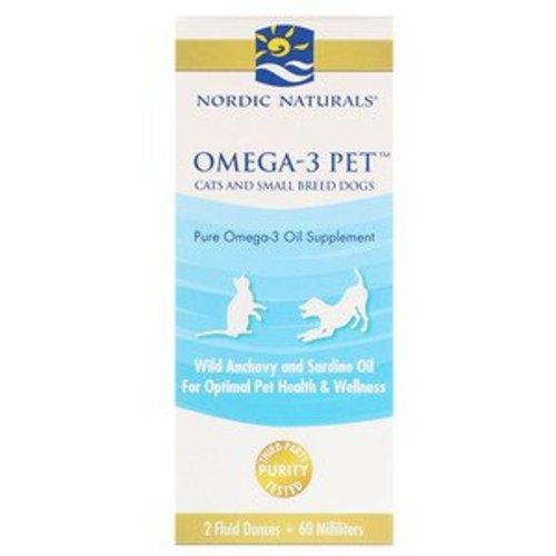 Nordic Naturals Omega-3 für Haustiere, Katzen und kleine Hunderassen