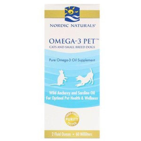 Nordic Naturals Nordic Naturals, Omega-3 für Haustiere, Katzen und kleine Hunderassen, 60 ml